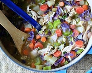 eastern european chicken cabbage soup