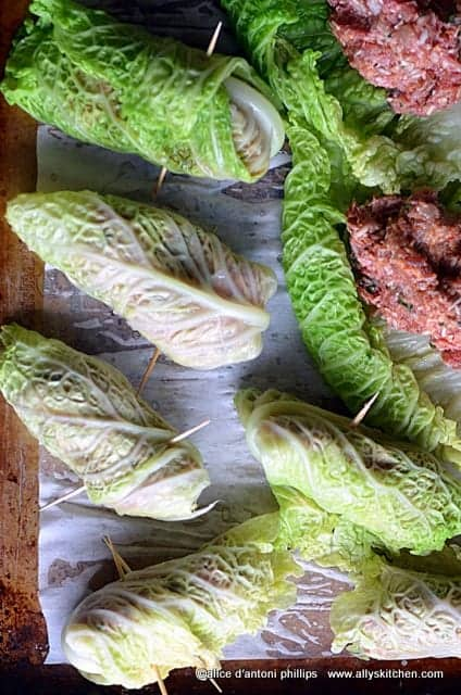 sarma kata croatian cabbage rolls