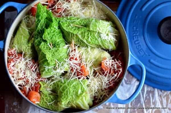 sarma kata croatian cabbage rolls