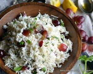 delta blue rice salad
