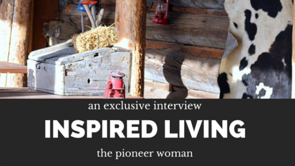 talking with ree drummond