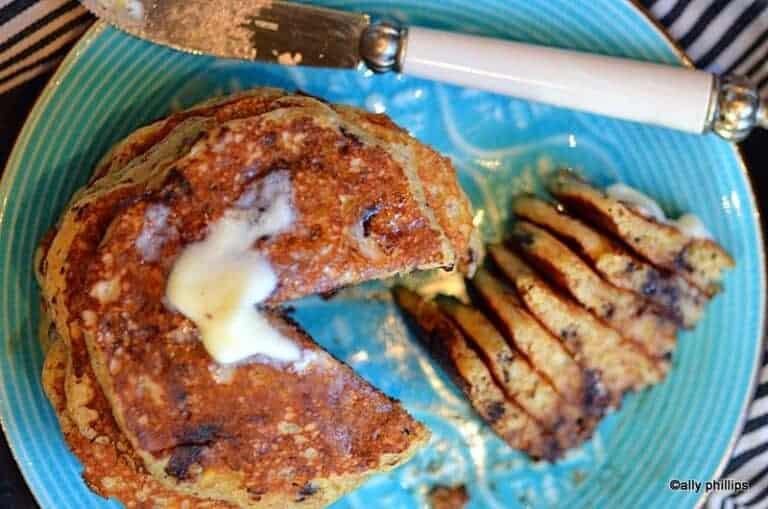 Banana Dipper Pancakes