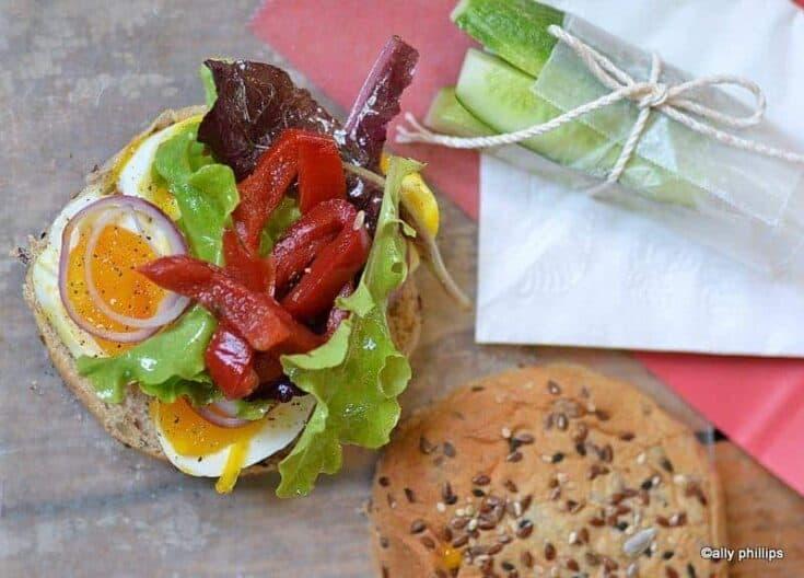 soft boiled egg sandwich