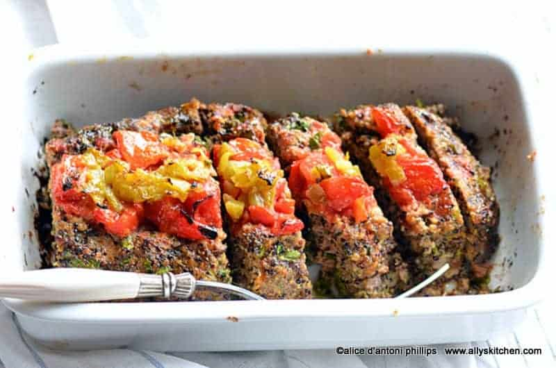elk meatloaf & green chiles
