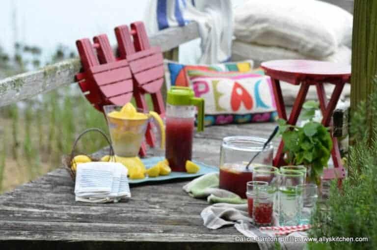 iced tea + lemonade