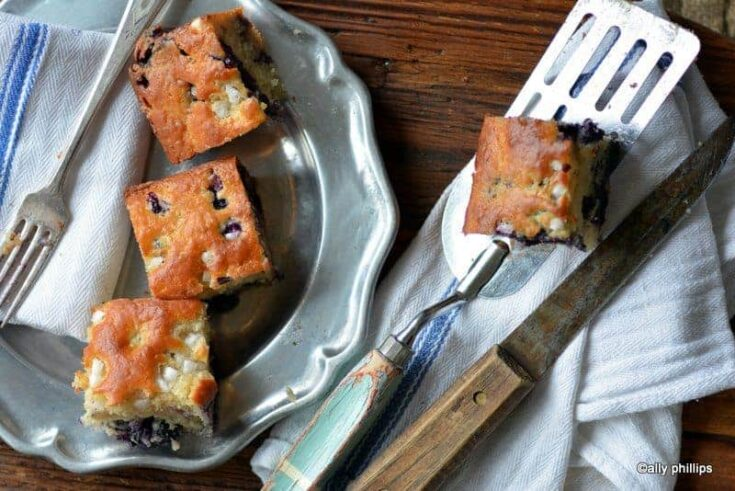 pearl sugar tea cake