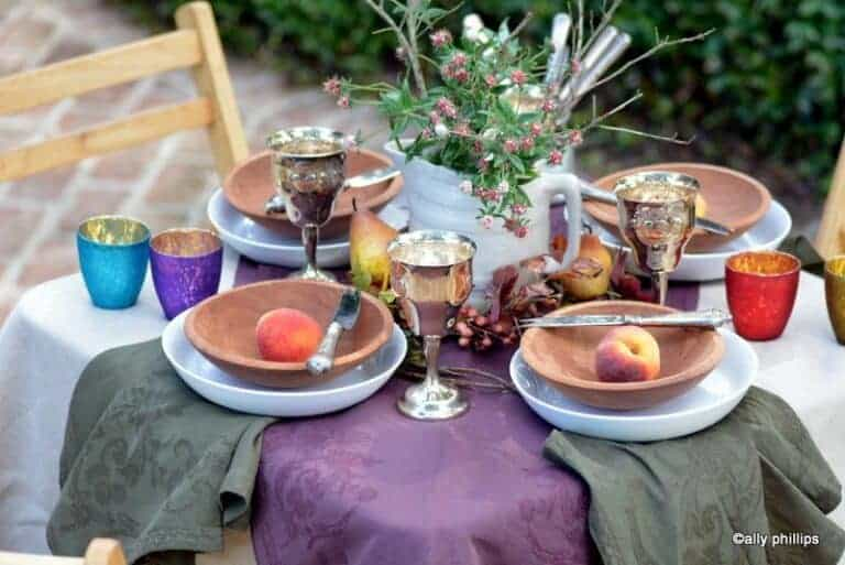 the hippie chic fall table