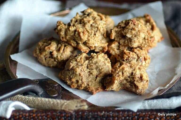 dead sea granola cookie mounds