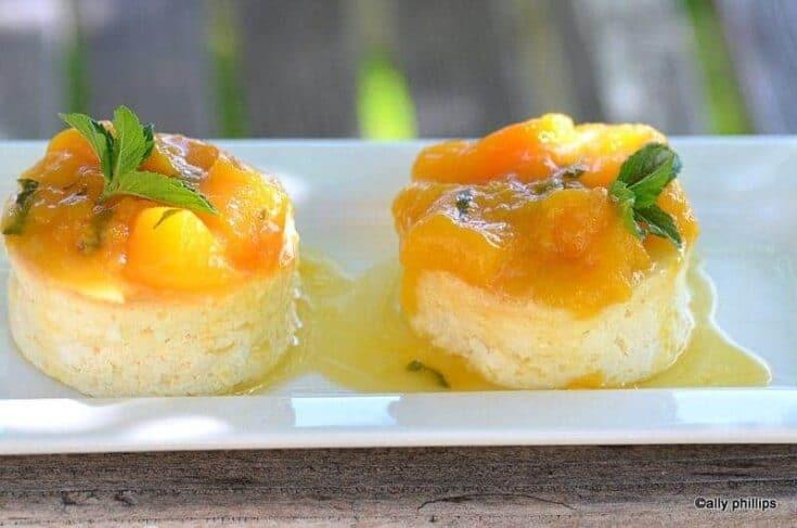 ramekin crustless lemon cheesecakes