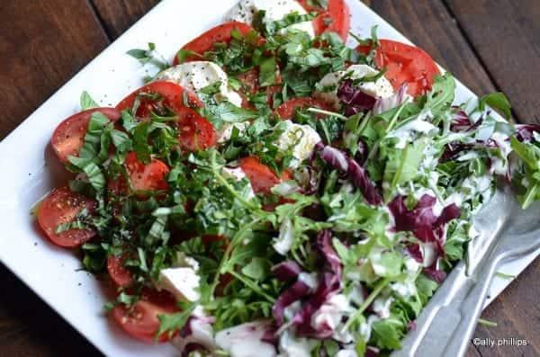 mediterranean simple salad