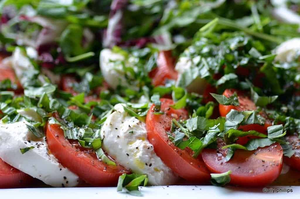 mediterranean simple salad
