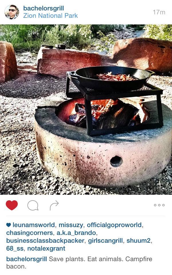 free spirited bohemian camping