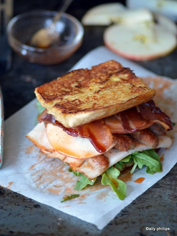 big boss turkey club sandwich