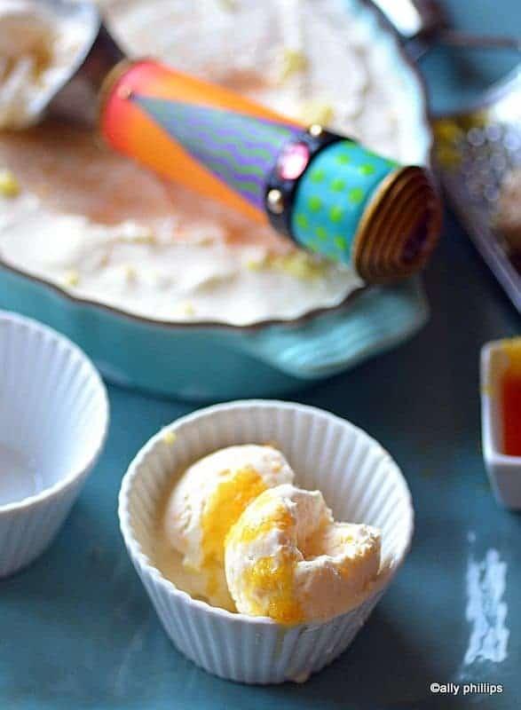 orange ginger ice cream