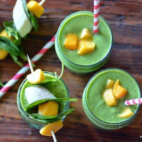 live on green smoothie