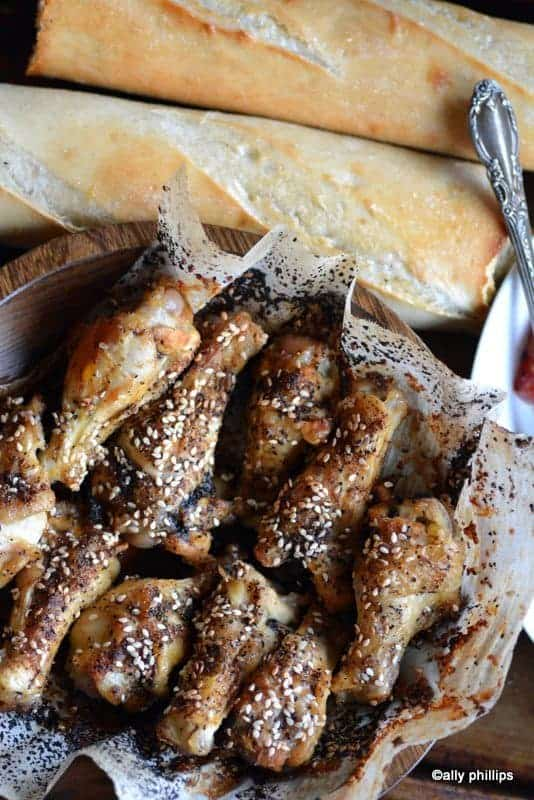 sesame chicken drumettes