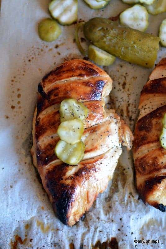 dill pickle chicken