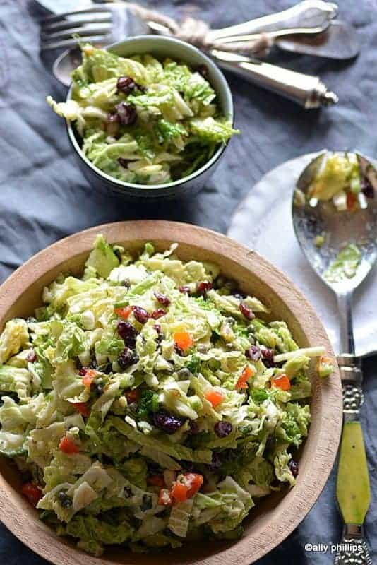 naughty girl cabbage salad