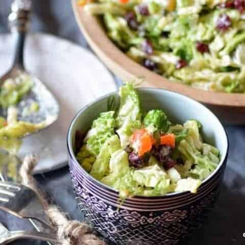 naughty girl cabbage salad