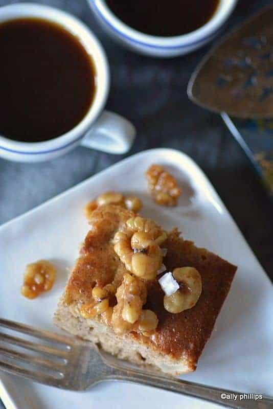 grannysmith apple ginger cake
