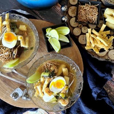 vietnamese bokchoy shrimp soup