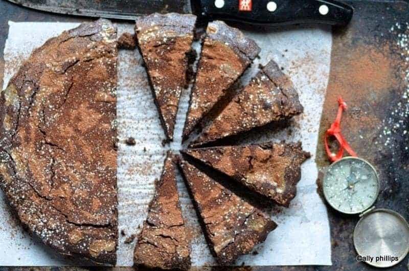bailey's chocolate espresso tart