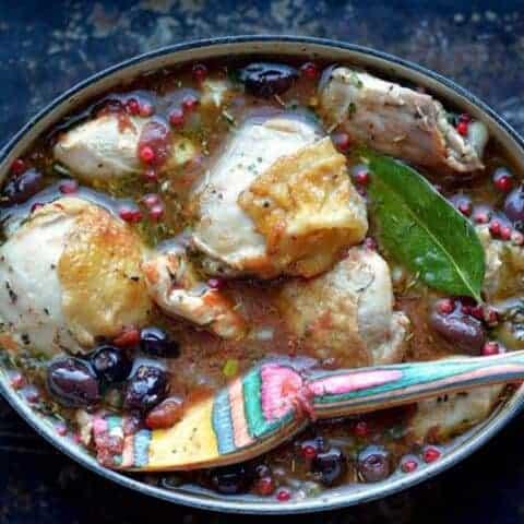 chicken puttanesca stew