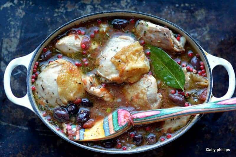 Chicken Puttanesca Stew