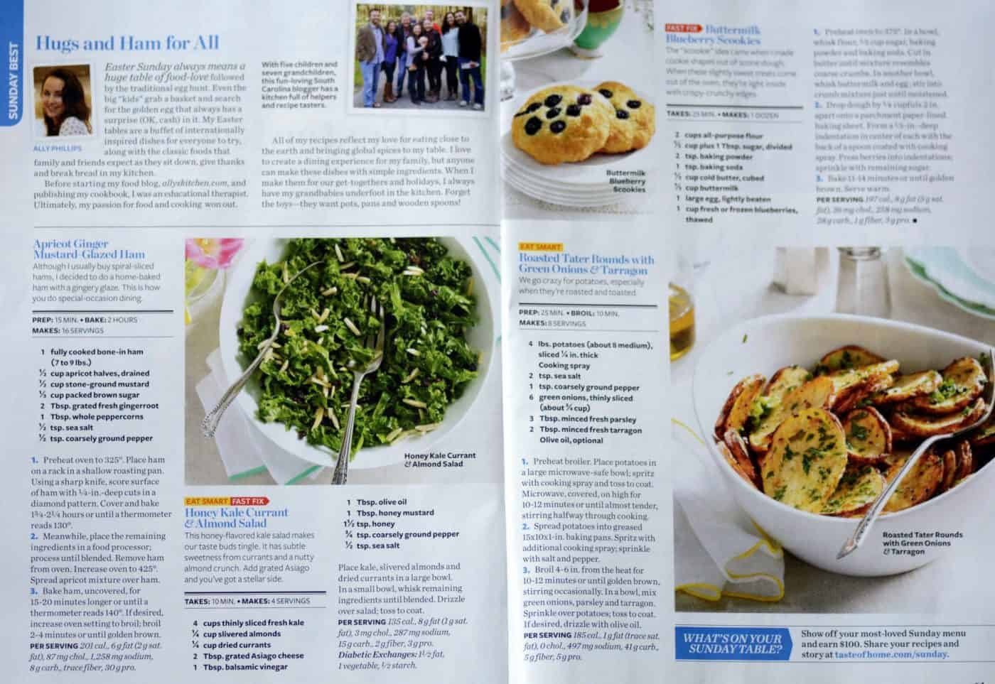america's #1 food magazine calls me