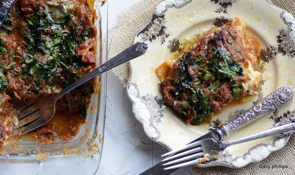 pot roast lasagna