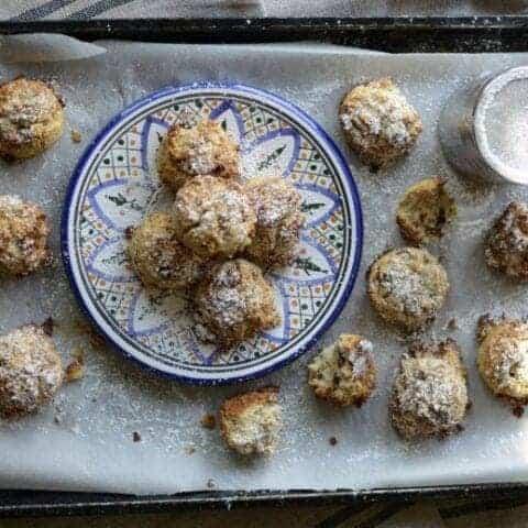 gluten free ice cream scoop cookies