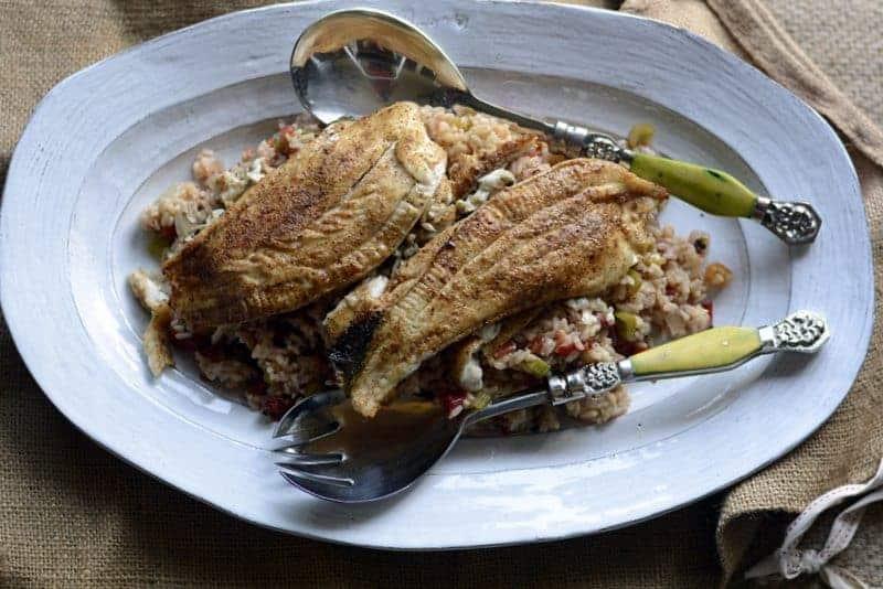 flounder creole