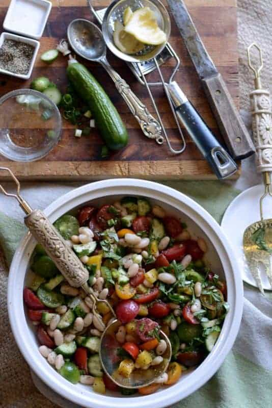 italian sunshine salad