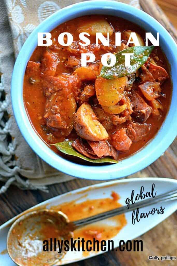 bosnian pot beef stew