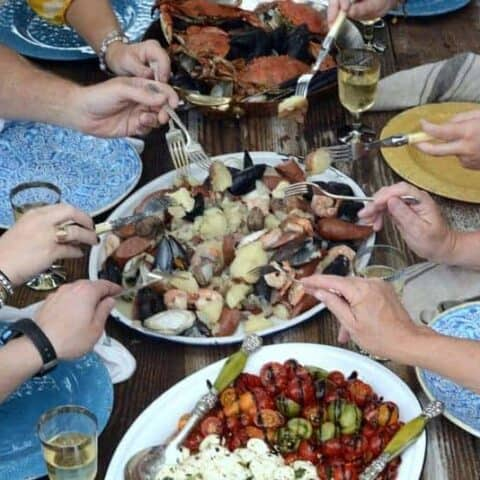 lowcountry seafood boil
