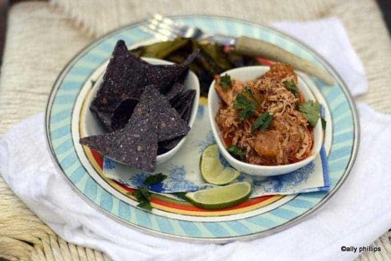 Pineapple Enchilada Slow Cooker Chicken