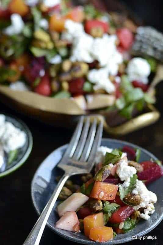 beet watermelon salad