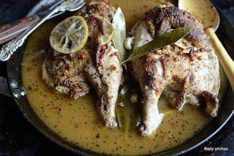 Love Bird Citrus Garlic Chicken