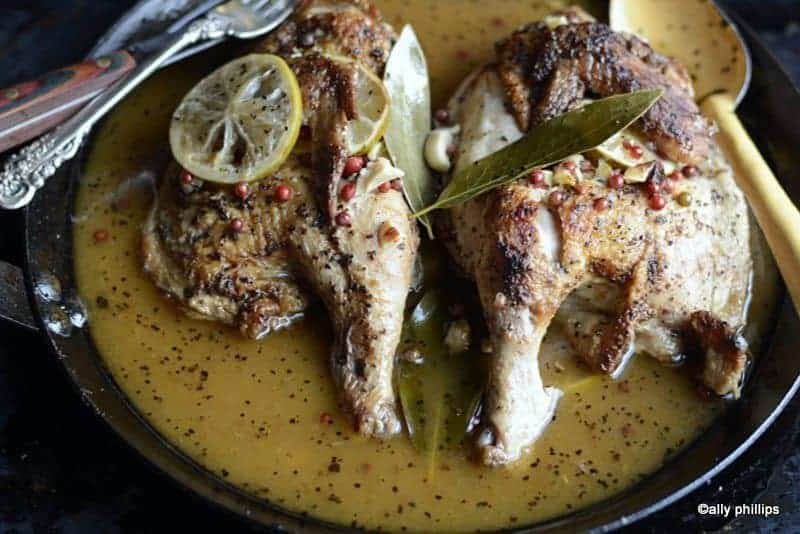love bird citrus garlic chicken