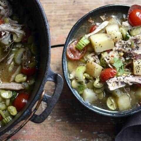 farmers market chicken soup