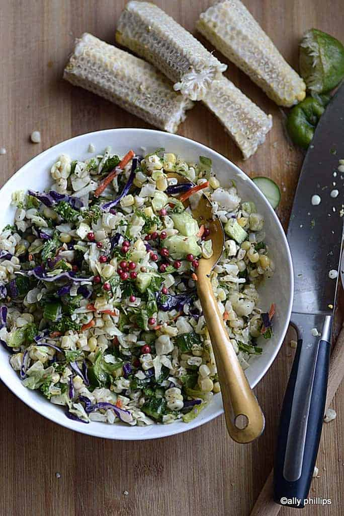 cumin coriander chopped salad