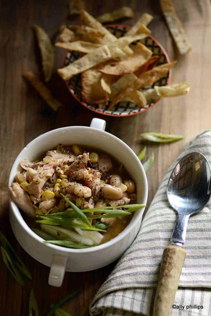 chicken fajita slow cooker soup