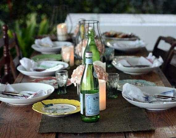 dinner party tables that talk