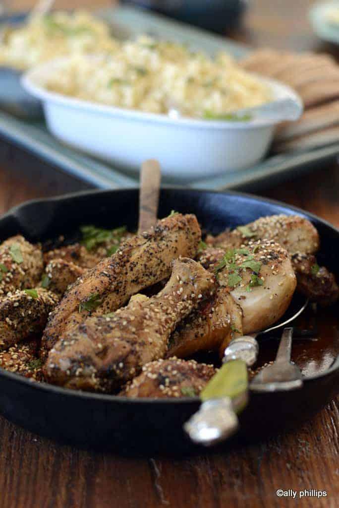 hurricane sesame glazed chicken