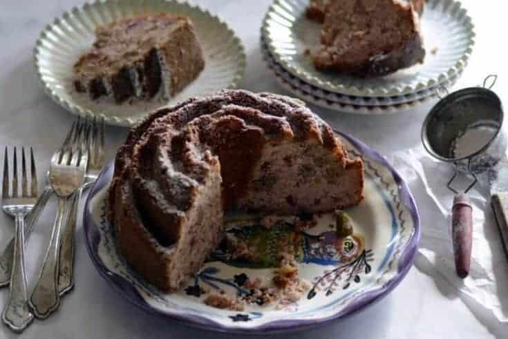 cranberry sauce nut cake