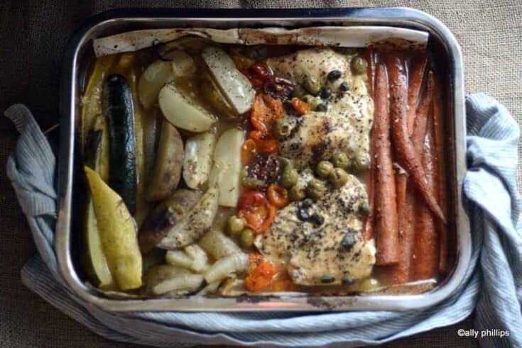 orange pineapple fajita chicken & veggies