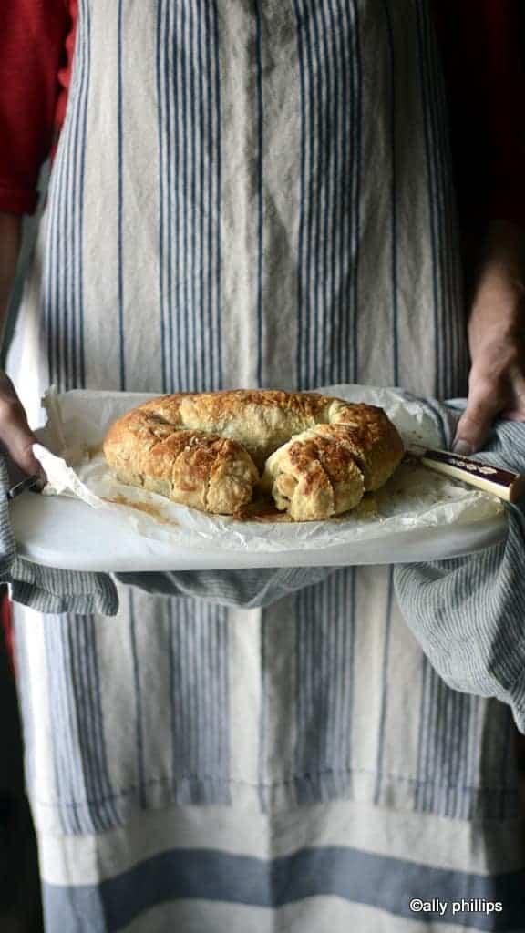 holiday walnut bread povitica