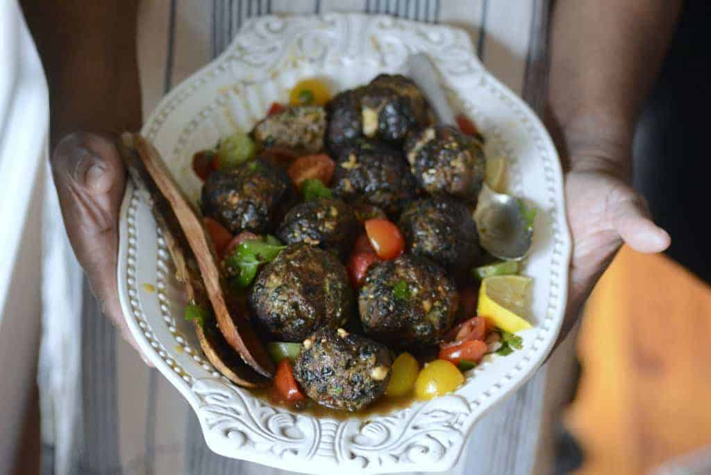 how to make greek meatballs