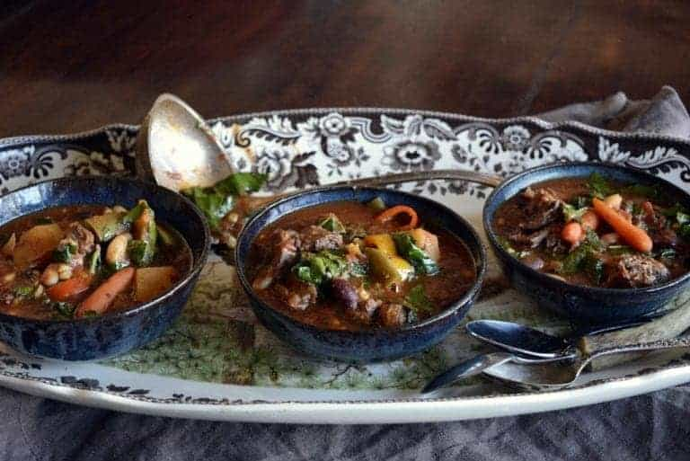Jeffersonian Inspired Chunky Vegetable Beef Stew