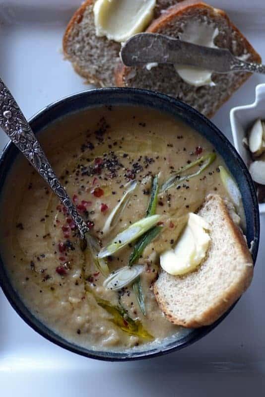 beef chorizo potato soup